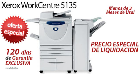 Comprar una Xerox WorkCentre 5135