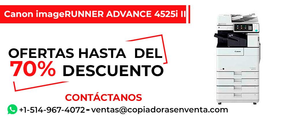 Fotocopiadora a Blanco y Negro Canon imageRUNNER ADVANCE 4525i III en venta