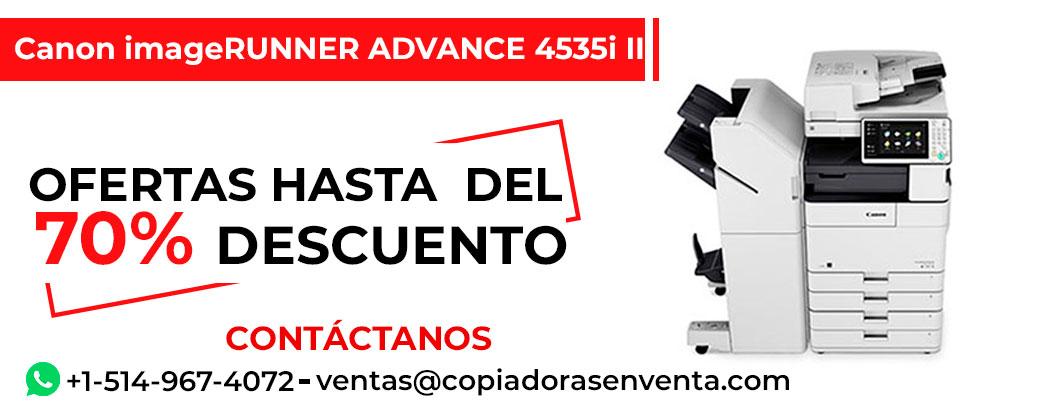 Fotocopiadora a Blanco y Negro Canon imageRUNNER ADVANCE 4535i II en venta