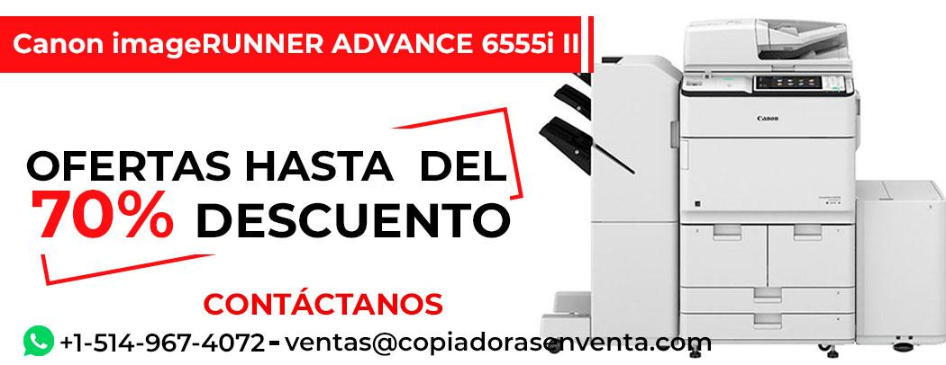 Fotocopiadora a Blanco y Negro Canon imageRUNNER ADVANCE 6555i III en venta