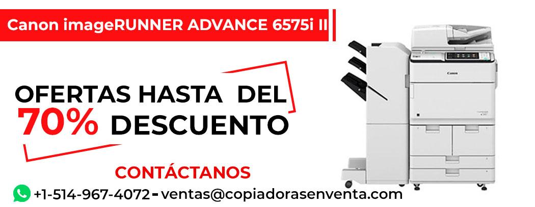 Prensa Digital a Blanco y Negro Canon imageRUNNER ADVANCE 6575i II en venta