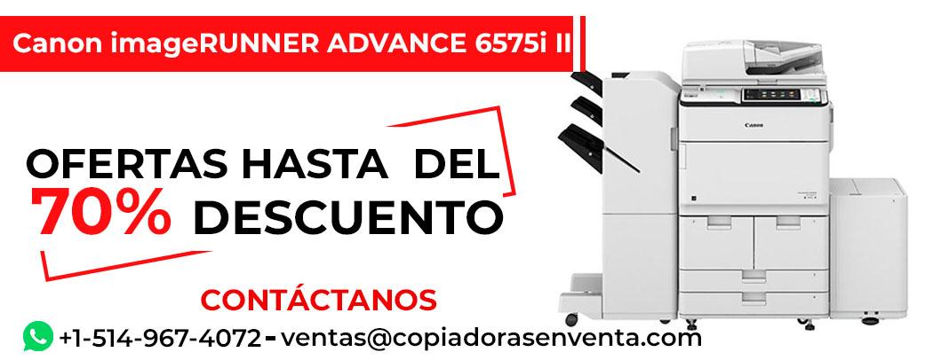 Prensa Digital a Blanco y Negro Canon imageRUNNER ADVANCE 6575i III en venta