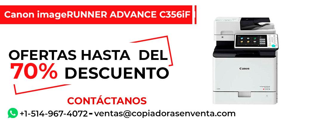 Fotocopiadora a Color Canon imageRUNNER ADVANCE C356iF III en venta