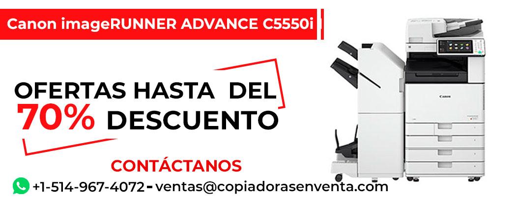 Fotocopiadora a Color Canon imageRUNNER ADVANCE C5550i II en venta