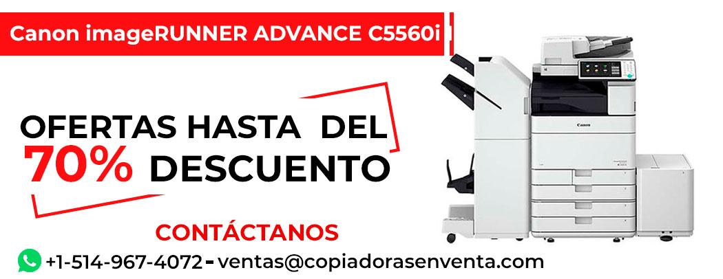 Fotocopiadora a Color Canon imageRUNNER ADVANCE C5560i III en venta