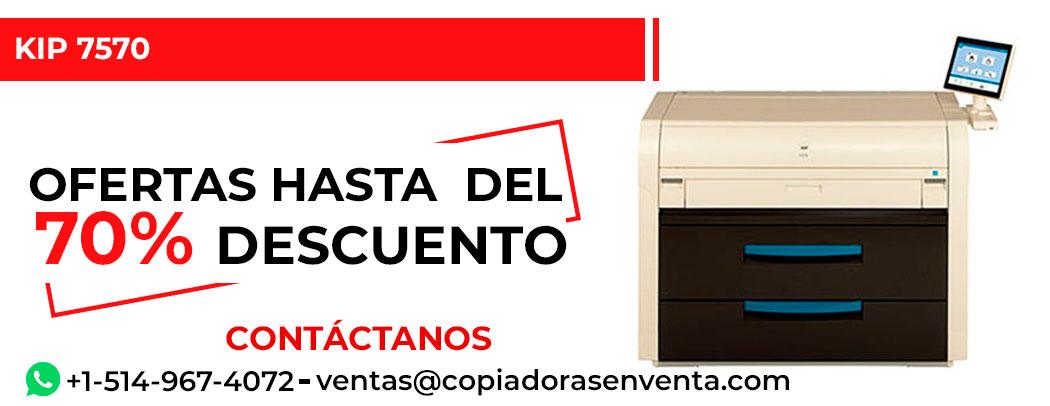 Impresora de Gran Formato a Blanco y Negro KIP 7570 en venta