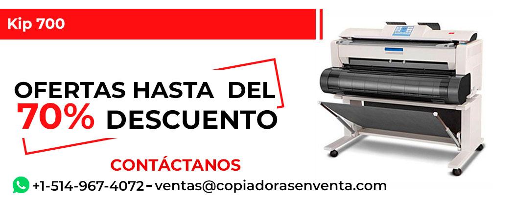 Impresora de Gran Formato a Blanco y Negro Kip 700 en venta