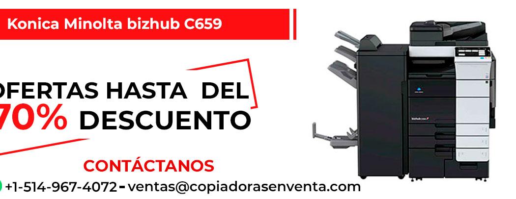 Fotocopiadora a Color Konica Minolta bizhub C659 en venta