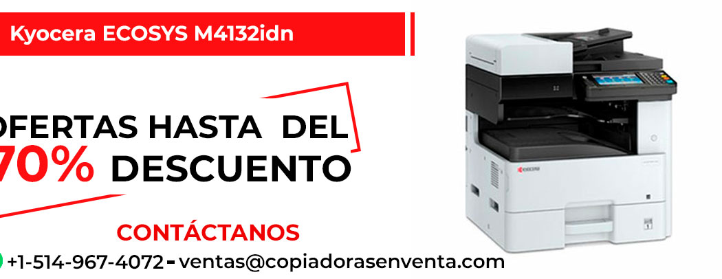 Fotocopiadora a Blanco y Negro Kyocera ECOSYS M4132idn en venta