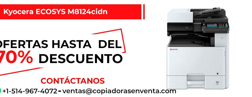 Fotocopiadora a Color Kyocera ECOSYS M8124cidn en venta