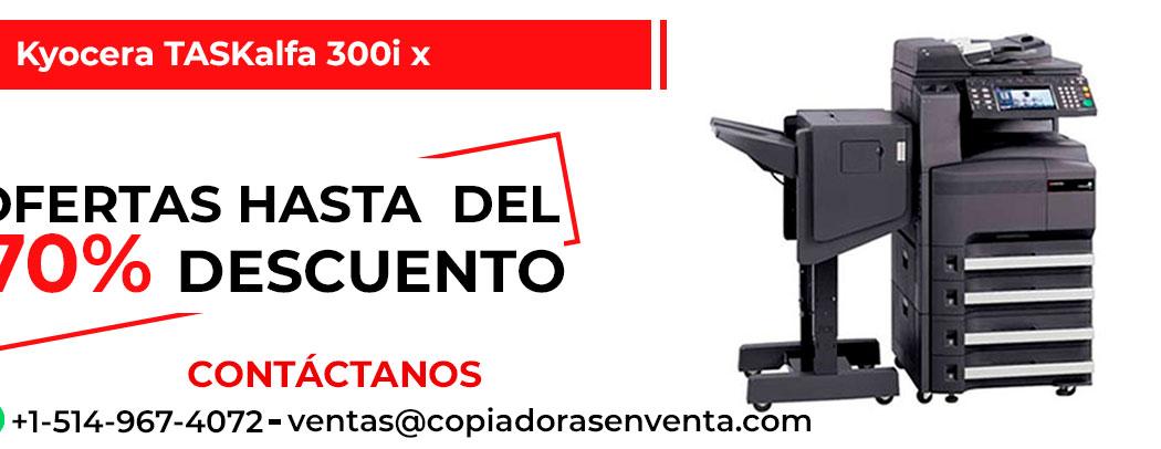 Fotocopiadora a Blanco y Negro Kyocera TASKalfa 300i x en venta
