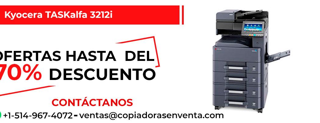 Fotocopiadora a Blanco y Negro Kyocera TASKalfa 3212i en venta
