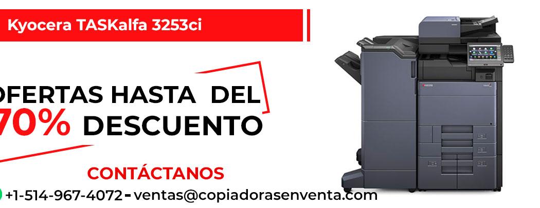 Fotocopiadora a Color Kyocera TASKalfa 3253ci en venta