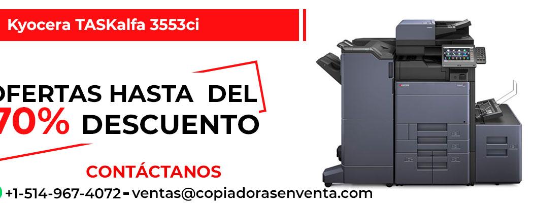 Fotocopiadora a Color Kyocera TASKalfa 3553ci en venta