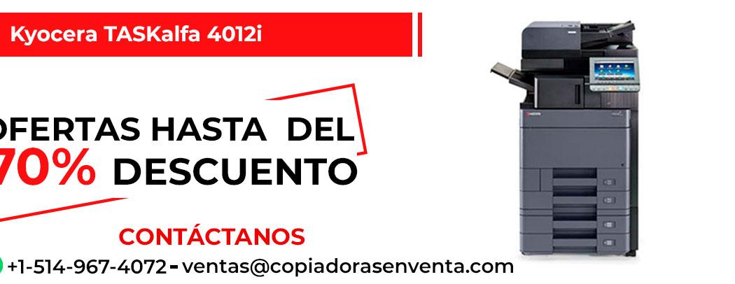 Fotocopiadora a Blanco y Negro Kyocera TASKalfa 4012i en venta