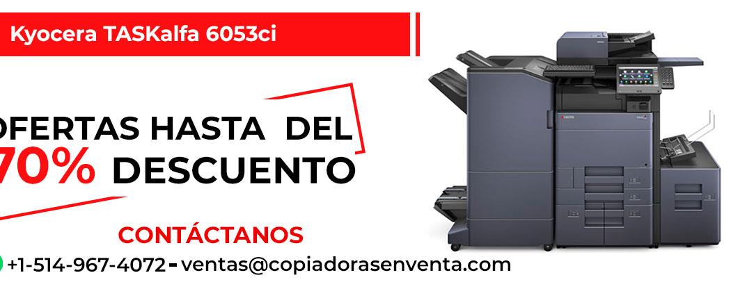 Fotocopiadora a Color Kyocera TASKalfa 6053ci en venta