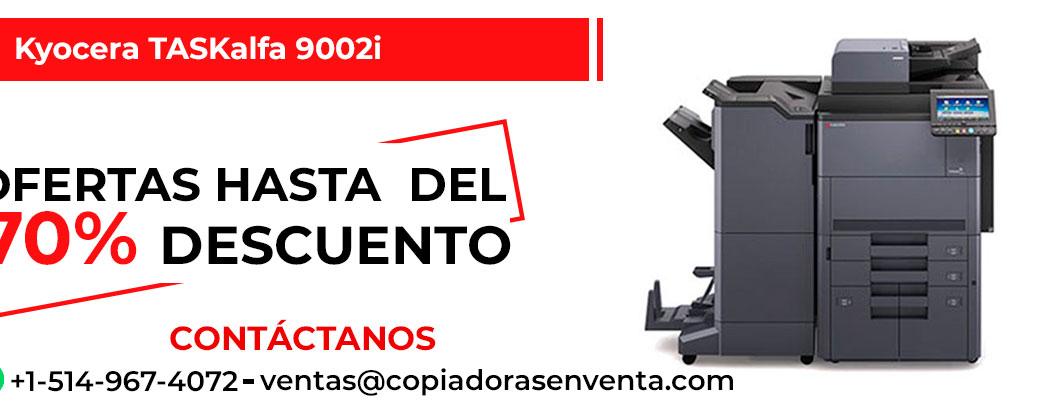 Prensa Digital a Blanco y Negro Kyocera TASKalfa 9002i en venta