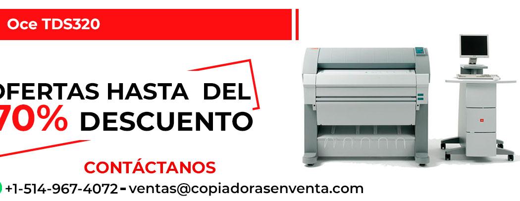 Impresora de Gran Formato a Blanco y Negro Oce TDS320 en venta