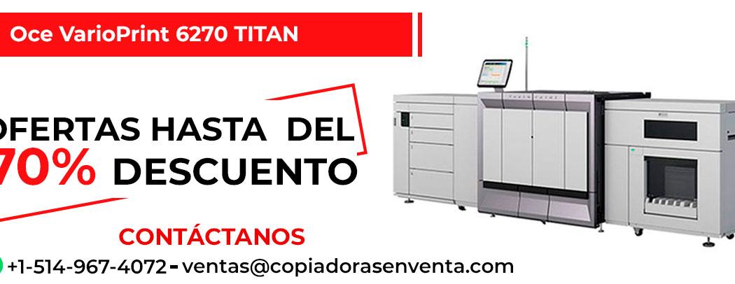 Prensa Digital a Blanco y Negro Oce VarioPrint 6270 TITAN en venta