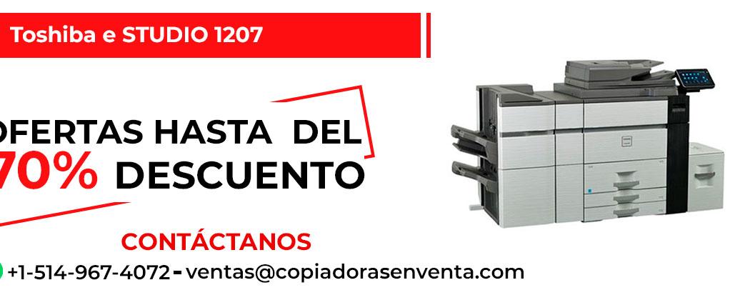 Prensa Digital a Blanco y Negro Toshiba e-STUDIO 1207 en venta