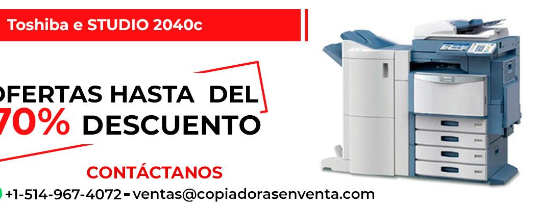Fotocopiadora a Color Toshiba e-STUDIO 2040c en venta