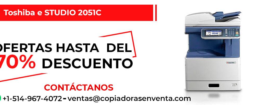 Fotocopiadora a Color Toshiba e-STUDIO 2051C en venta