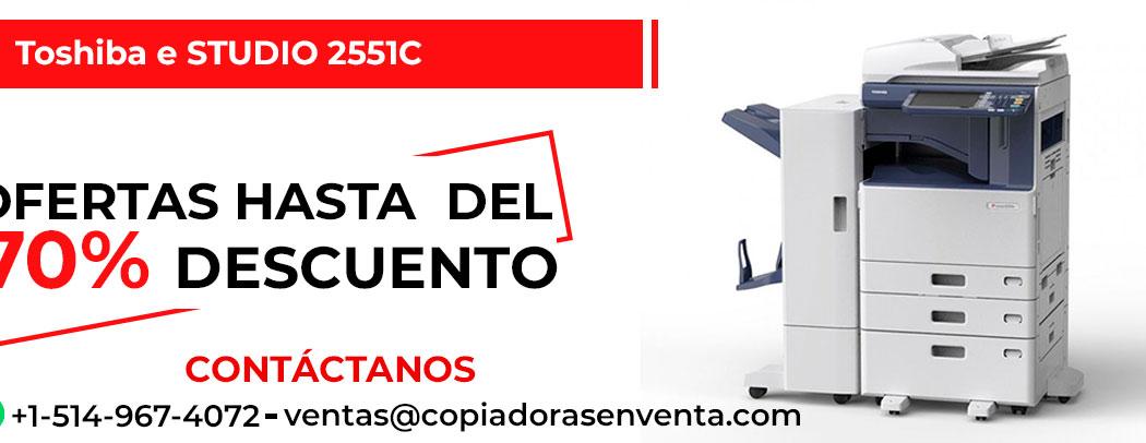 Fotocopiadora a Color Toshiba e-STUDIO 2551C en venta