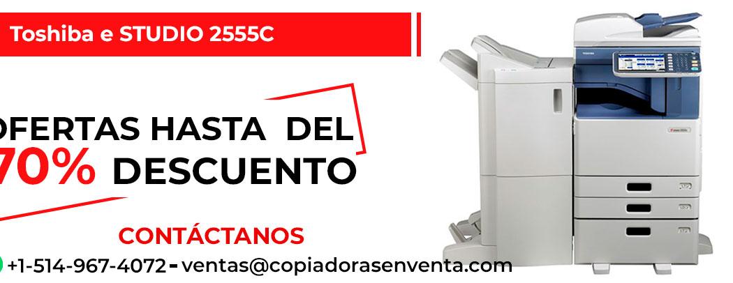 Fotocopiadora a Color Toshiba e-STUDIO 2555C en venta