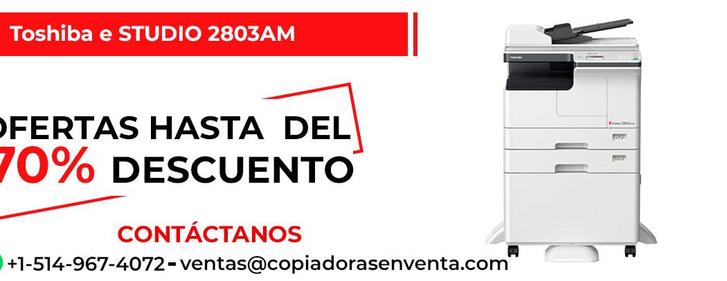 Fotocopiadora a Blanco y Negro Toshiba e-STUDIO 2803AM en venta