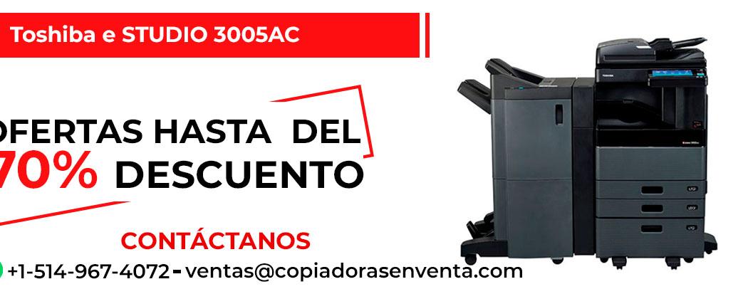 Fotocopiadora a Color Toshiba e-STUDIO 3005AC en venta