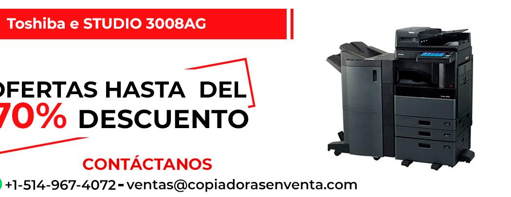 Fotocopiadora a Blanco y Negro Toshiba e-STUDIO 3008AG en venta