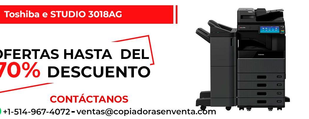 Fotocopiadora a Blanco y Negro Toshiba e-STUDIO 3018AG en venta