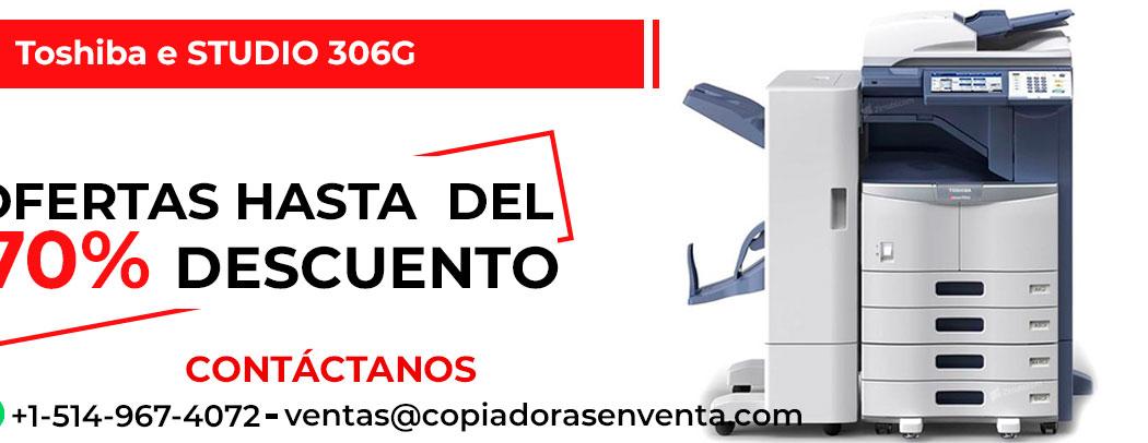 Fotocopiadora a Blanco y Negro Toshiba e-STUDIO 306G en venta