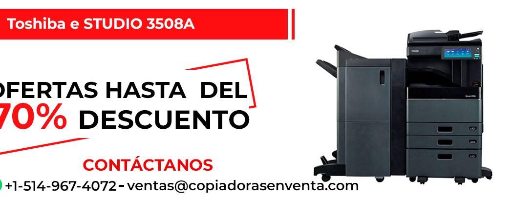 Fotocopiadora a Blanco y Negro Toshiba e-STUDIO 3508A en venta