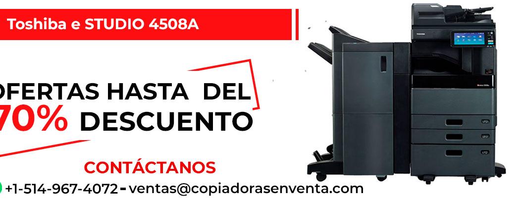 Fotocopiadora a Blanco y Negro Toshiba e-STUDIO 4508A en venta