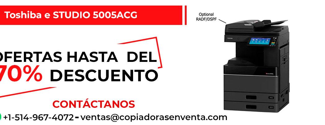 Fotocopiadora a Color Toshiba e-STUDIO 5005ACG en venta
