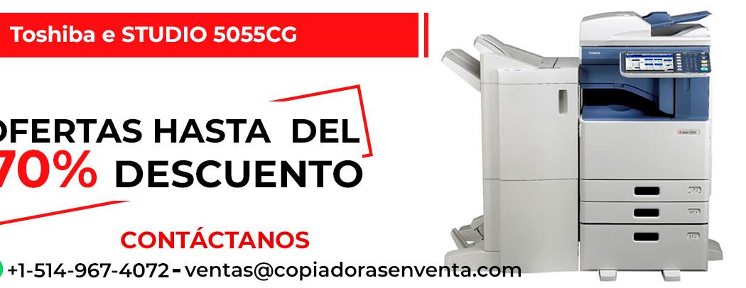 Fotocopiadora a Color Toshiba e-STUDIO 5055CG en venta
