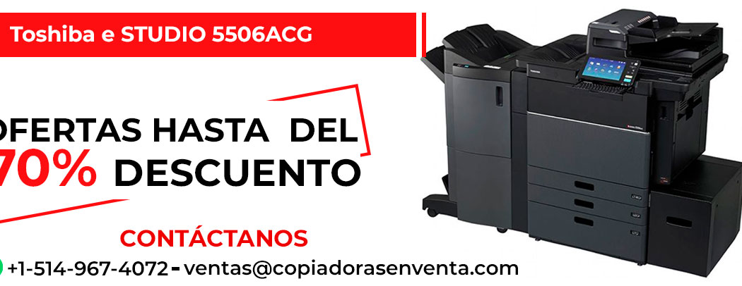 Fotocopiadora a Color Toshiba e-STUDIO 5506ACG en venta