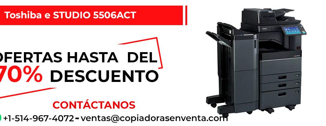 Fotocopiadora a Color Toshiba e-STUDIO 5506ACT en venta