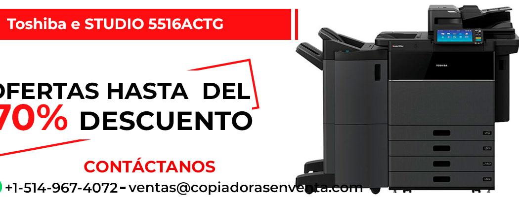 Fotocopiadora a Color Toshiba e-STUDIO 5516ACTG en venta