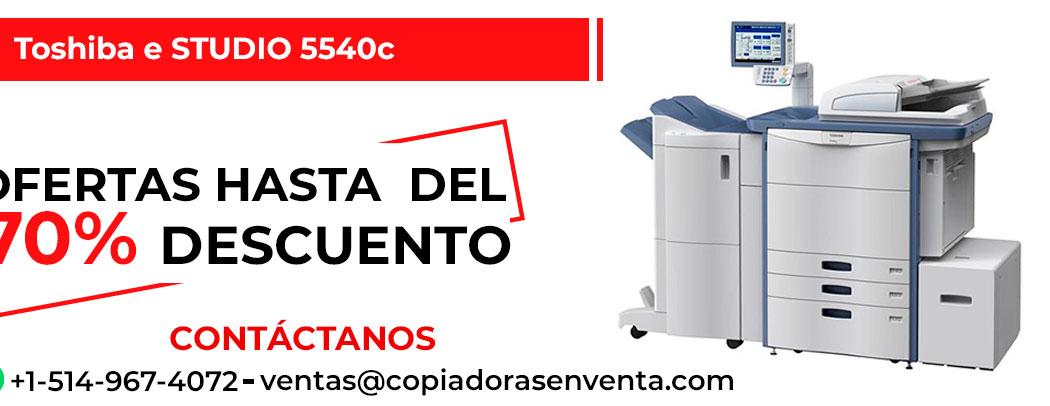 Fotocopiadora a Color Toshiba e-STUDIO 5540c en venta