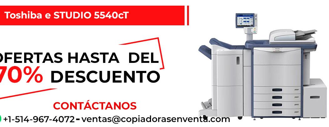 Fotocopiadora a Color Toshiba e-STUDIO 5540cT en venta