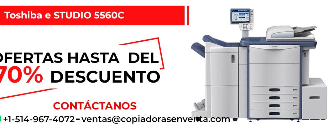 Fotocopiadora a Color Toshiba e-STUDIO 5560C en venta