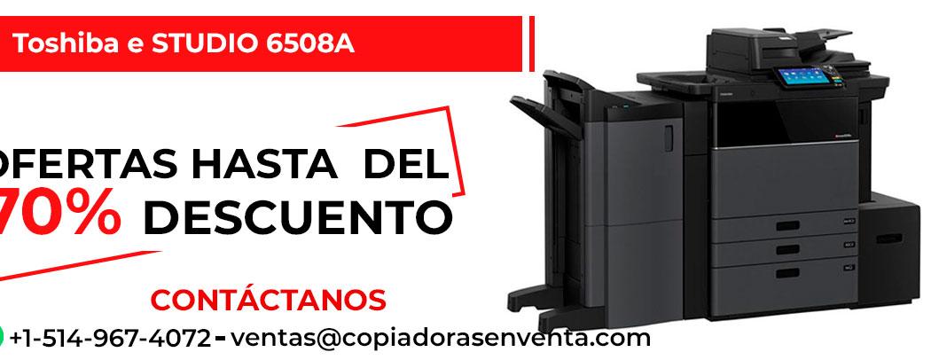 Fotocopiadora a Blanco y Negro Toshiba e-STUDIO 6508A en venta