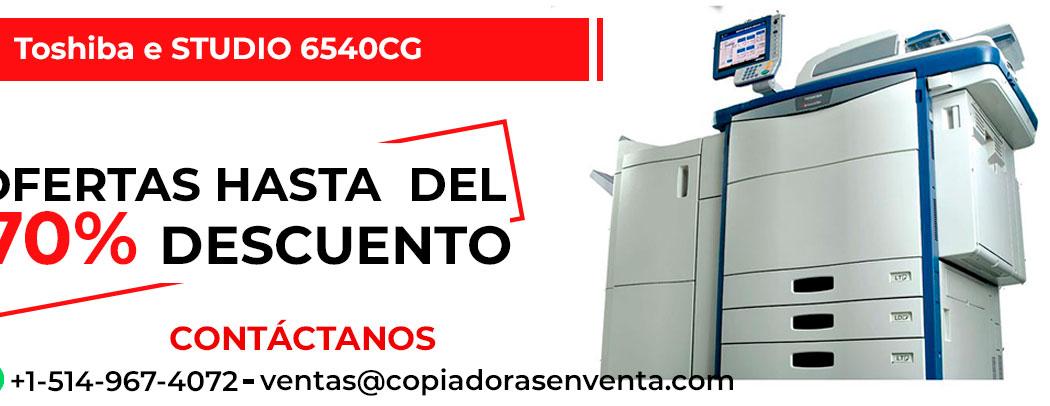 Fotocopiadora a Color Toshiba e-STUDIO 6540CG en venta