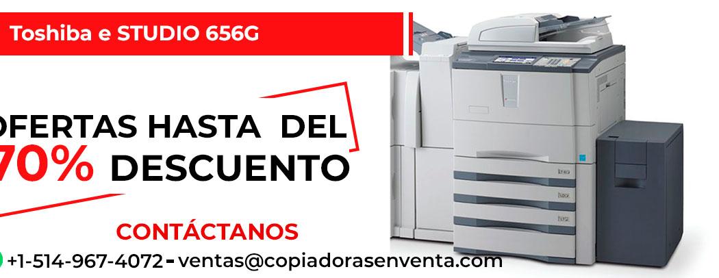 Fotocopiadora a Blanco y Negro Toshiba e-STUDIO 656G en venta