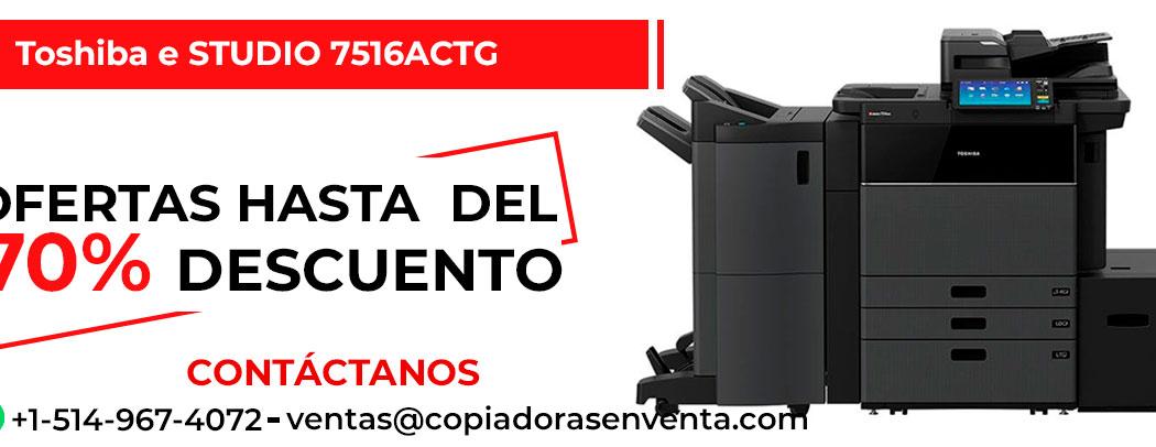 Prensa Digital a Color Toshiba e-STUDIO 7516ACTG en venta