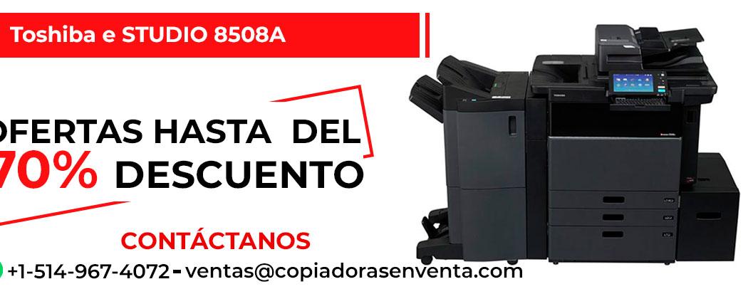 Prensa Digital a Blanco y Negro Toshiba e-STUDIO 8508A en venta