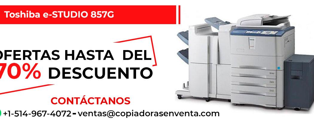 Prensa Digital a Blanco y Negro Toshiba e-STUDIO 857G en venta