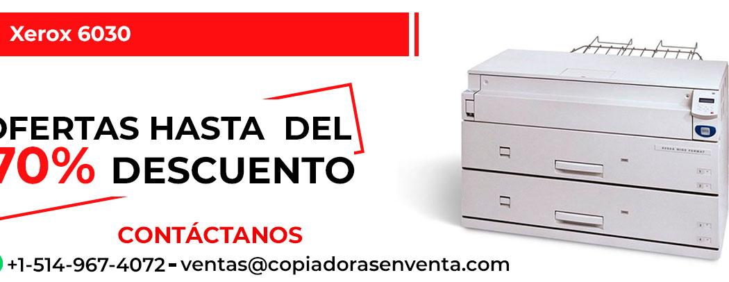 Impresora de Gran Formato a Blanco y Negro Xerox 6030 en venta